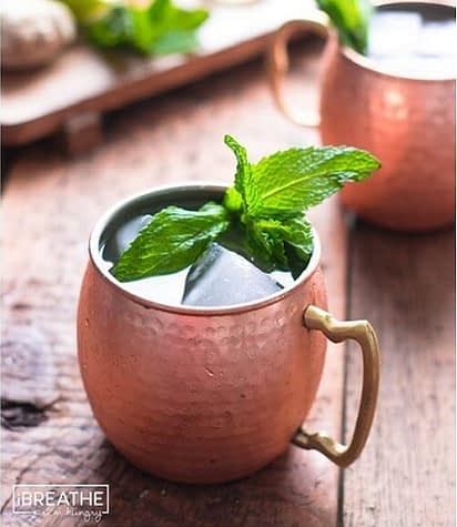 low carb Moscow mule