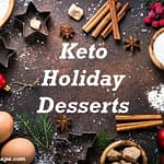 keto holiday desserts