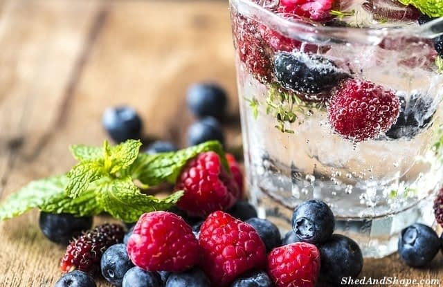 low carb infused water