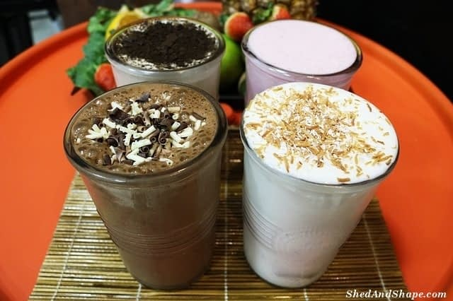 high protein low carb shakes