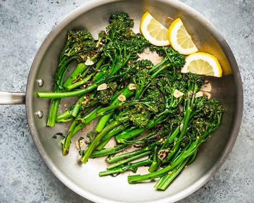 keto garlic broccolini