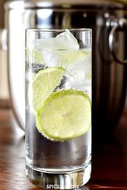 low carb gin & tonic