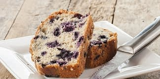 keto blueberry cake