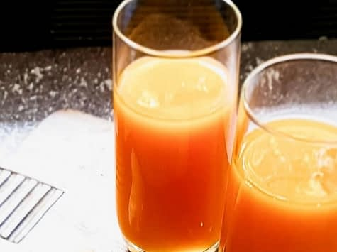 keto carrot and ginger juice
