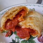 low carb pizza pocket
