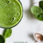 keto St Patrick's Day Smoothie