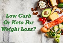 low carb or keto for weight loss