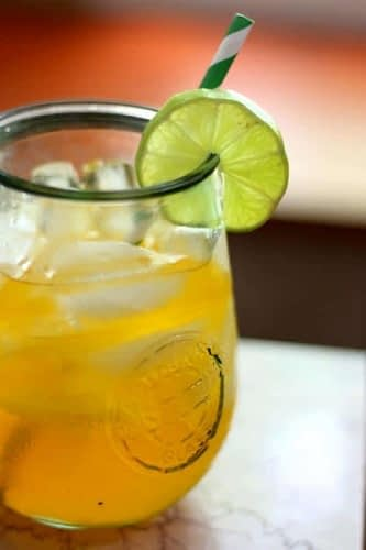 low carb carribbean rum punch